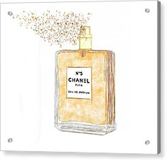 Chanel Splash Acrylic Print
