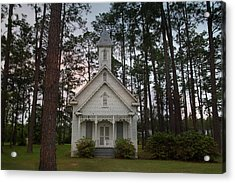 Chapel In The Woods Acrylic Print