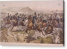 Charge Of The Light Brigade Acrylic Print by Fotosearch