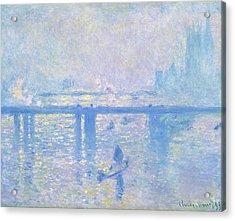 Charing Cross Bridge - Digital Remastered Edition Acrylic Print