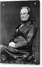 Charles Babbage Acrylic Print by Hulton Archive