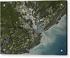 Charleston City, South Carolina, Us Acrylic Print