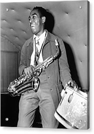 Charlie Parker Performing Acrylic Print