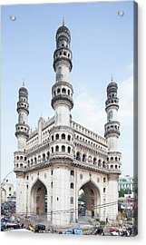 Charminar Monument In Hyderabad Acrylic Print