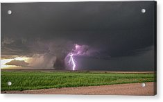 Acrylic Print featuring the photograph Chasing Naders In Nebraska 017 by Dale Kaminski