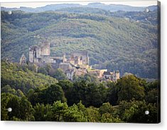 Chateau Beynac, France Acrylic Print