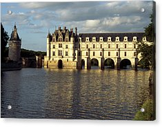 Chateau Chenonceaux On The Cher River Acrylic Print