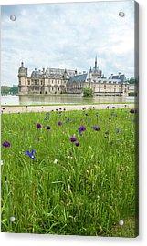 Chateau De Chantilly, Chantilly, France Acrylic Print by Lisa S. Engelbrecht