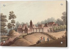Chateau Dhougoumont Acrylic Print by Hulton Archive