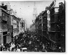 Cheapside Acrylic Print by General Photographic Agency