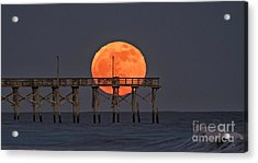 Cheddar Moon Acrylic Print
