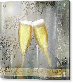 Cheers To Love Acrylic Print