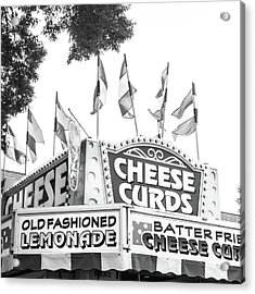 Cheese Curds Acrylic Print