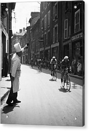 Chef Toasts Tour Acrylic Print by Bert Hardy