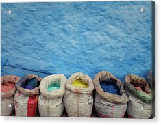 Chefchaouen Acrylic Print