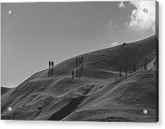 Chelan Mountains Acrylic Print