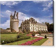 Chenonceaux Chateau Acrylic Print