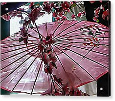 Acrylic Print featuring the photograph Cherry Blossom Dreams by Dorothy Berry-Lound