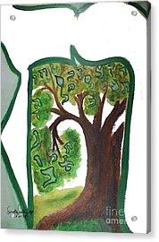 Chet, Tree Of Life  Ab21 Acrylic Print