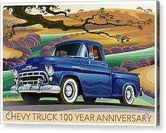 Chevy Truck Centennial 3100 Acrylic Print