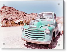 Chevy Truck Dreamland Tilt-shift Acrylic Print