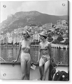 Chic Bikini Acrylic Print by Bert Hardy