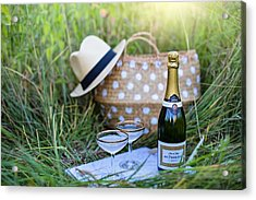 Acrylic Print featuring the photograph Chic Picnic by Top Wallpapers