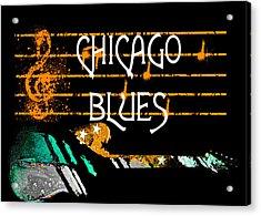 Chicago Blues Music Acrylic Print
