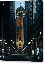 Chicago Board Of Trade Acrylic Print