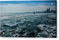 Chicago From Navy Pier 2 Acrylic Print