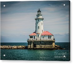Chicago Harbor Lighthouse Acrylic Print