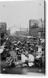 Chicago Haymarket Acrylic Print by Hulton Archive