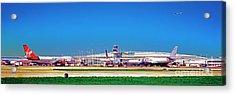 Chicago, International, Terminal Acrylic Print