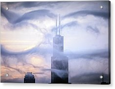 Chicago Tops No. 2 Acrylic Print by By Ken Ilio