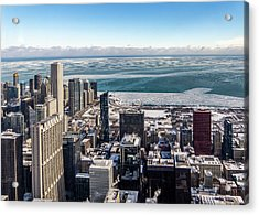 Chicago View Angled Acrylic Print