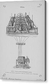 Chiming Machine Using Bells Acrylic Print