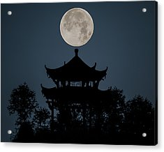 China Moon Acrylic Print