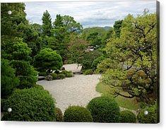Chionin Temple Garden, Kyoto Acrylic Print