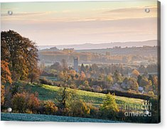Chipping Campden Autumn Morning Cotswolds Acrylic Print by Tim Gainey