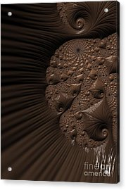 Chocolate Fudge. Acrylic Print