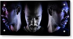 Acrylic Print featuring the photograph Choice. by Eric Christopher Jackson