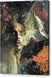 Chris Cornell - Can't Change Me Acrylic Print by Bobby Zeik