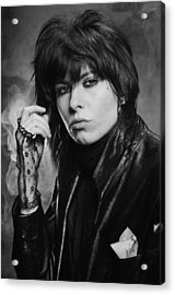 Chrissie Hynde Acrylic Print by Fin Costello
