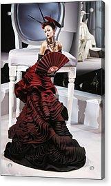Christian Dior, Haute Couture Acrylic Print by Alain Benainous