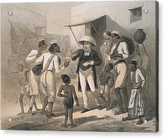 Christian Missionary Acrylic Print by Hulton Archive