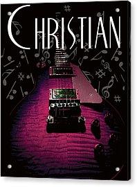 Christian Music Guita Acrylic Print