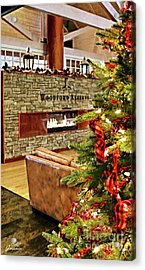 Christmas At Woodford Reserve Acrylic Print