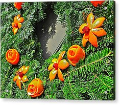 Acrylic Print featuring the photograph Christmas Citrus by Don Moore
