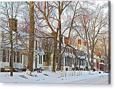Acrylic Print featuring the photograph Christmas Snow by Don Moore