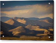 Chupadera Mountains II Acrylic Print